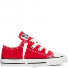 Красные детские кеды Converse All Star Red