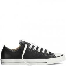 Кеды Converse Star черные кожаные