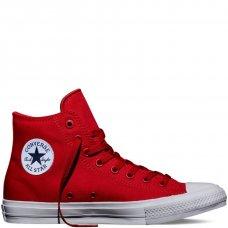 Кеды Converse All Star II высокие красные купить СПб