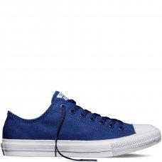 Кеды Converse All Star II синие низкие купить СПб