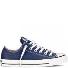 Синие низкие кеды Converse All Star