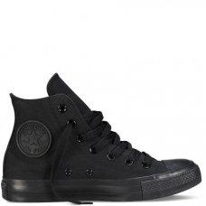 Кеды Converse All Star высокие черные купить