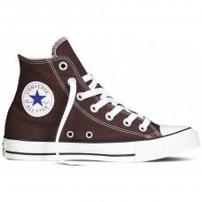 Коричневые высокие кеды Converse All Star