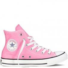 Розовые высокие кеды Converse All Star