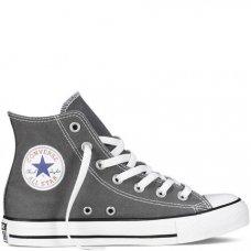 Серые высокие кеды Converse All Star
