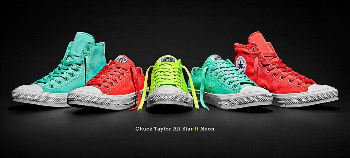 Кеды Converse Chuck Taylor All Star II Neon